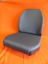 2 Sitzbezüge Stoff grau+ 2 Schaumkerne Unimog 406- 421 Standard