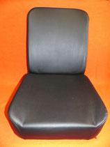 2 Sitzbezüge Kunstleder schwarz, Unimog 406-421 ISRI 5002