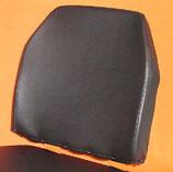 1 Lehnenbezug Unimog 406- 421 Std. Kunstleder schwarz