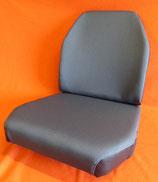 2 Sitzbezüge Stoff grau, Unimog 406- 421 Std., 1x Sitz+ 1x Lehne,