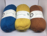 West Yorkshire Spinners Signatur 4ply, 100 g, Sockengarn, uni