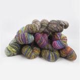 Lazy Lion Sock Yarn, handgefärbtes Sockengarn 100 g