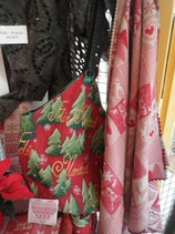 Weihnachtstasche in Gobelin