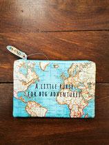 Portamonete Mappa del Mondo