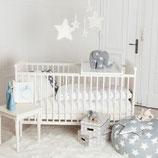 Wickelbrett/Wickelaufsatz für Babybetten 85x50cm, auch für alle IKEA Babybetten nutzbar!