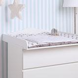 """""""Wolke 4"""" Wickelaufsatz für IKEA Malm Kommode"""