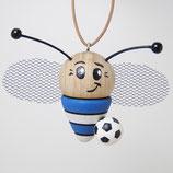 Soccer blau weiß