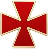 Pin's Croix des Templiers