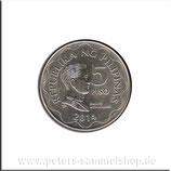 PHL-120 - Siegel der Zentralbank / Emilio Aquinaldo, Wertangabe