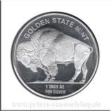 USA-2015-U-01 - American Buffalo / Indianerkopf