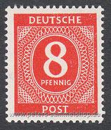 D-AB-917 - I. Kontrollratsausgabe: Ziffern - 8