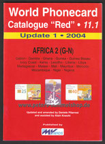 WPC-11.1 - Update Katalog - AFRIKA 2 (G-N) - 2004
