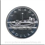 CAN-134 - Indianer im Kanu vor Toronto