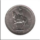 GB-376 - Elizabeth II zu Pferde / Krone