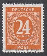 D-AB-925 - I. Kontrollratsausgabe: Ziffern - 24