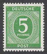 D-AB-915 - I. Kontrollratsausgabe: Ziffern - 5