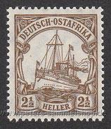 D-K-DOA-030 - Kaiseryacht, Wertangabe in Heller - 2 1/2