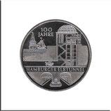 BRD-565 - 100 Jahre Hamburger Elbtunnel in Kupfer-Nickel