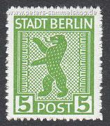 D-BB-01-B - Berliner Bär und Eiche - 5 - (zickzackförmig)