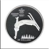 CAN-144 - Olympische Spiele 1988 - Skiakrobat