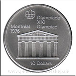 CAN-089 - Olympische Spiele 1976 - Zeustempel in Olympia
