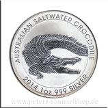 AUS-2014-U-04 - Australischer Salzwasserkrokodil