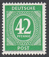 D-AB-930 - I. Kontrollratsausgabe: Ziffern - 42