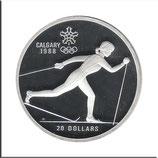CAN-143 - Olympische Spiele 1988 - Skilangläuferin