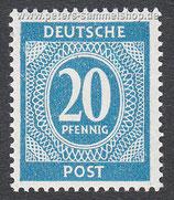 D-AB-924 - I. Kontrollratsausgabe: Ziffern - 20