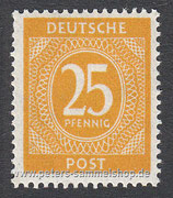 D-AB-927 - I. Kontrollratsausgabe: Ziffern - 25