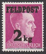 D-DR-FP-003 - Zulassungsmarke für Feldpostpäckchen bis 2 kg
