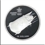 CAN-151 - Olympische Spiele 1988 - Zweierbob
