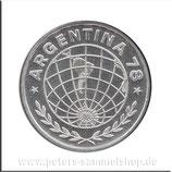 ARG-080 - Fußball WM 1978 in Argentinien / Wertangabe