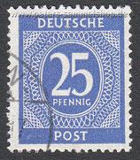 D-AB-926 - I. Kontrollratsausgabe: Ziffern - 25
