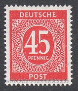 D-AB-931 - I. Kontrollratsausgabe: Ziffern - 45