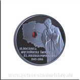 POL-720 - 25. Todestag von Jerzy Popieluszko (mit aufgeklebtem Zirkon)