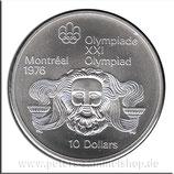 CAN-088 - Olympische Spiele 1976 - Kopf des Zeus