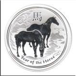 AUS-2014-U-02 - Lunar II-Serie - Jahr des Pferdes