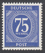 D-AB-934 - I. Kontrollratsausgabe: Ziffern - 75