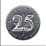 CAN-2013-U-01 - 25 Jahre Maple Leaf