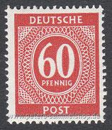 D-AB-933 - I. Kontrollratsausgabe: Ziffern - 60