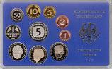 BRD-KMS-1996-G (Karlsruhe) - 10 Münzen (PP)