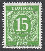 D-AB-922 - I. Kontrollratsausgabe: Ziffern - 15