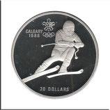 CAN-137 - Olympische Spiele 1988 - Abfahrtsläufer