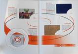 D-C-2002 - 4 Telefonkarten im Buchfolder (Flitter,CD-Rom,Samt & Leder)