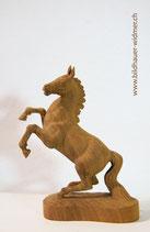 Pferd springend