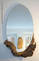 Spiegel mit Schwemmholzrahmen