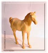 Pferd mit erhobenem Schweif