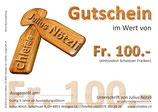 Allgemeiner Gutschein für Fr. 100.-