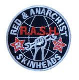 Aufnäher RASH gestickt
